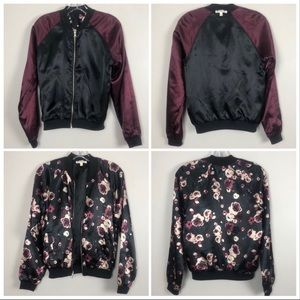 Love, Fire 2in1 Reversible Bomber Jacket Small